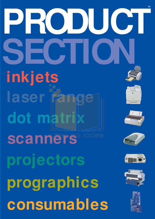 pdf for Epson Printer Stylus Photo 820 manual