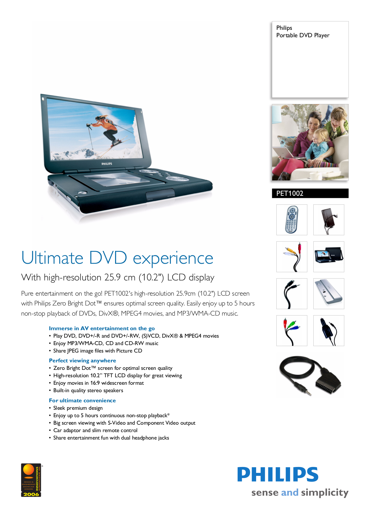 download free pdf for philips pet1002 portable dvd player manual rh umlib  com Philips PD9012 37 Philips User Manuals