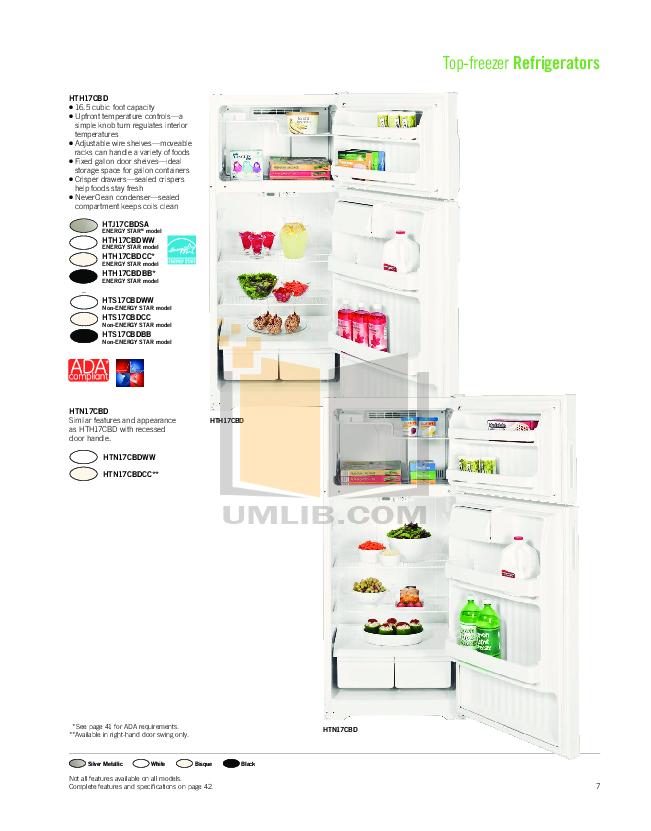 Hotpoint Range RGB746DEP pdf page preview