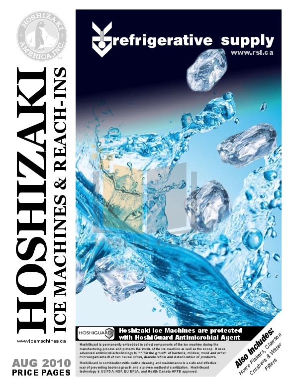 pdf for Hoshizaki Other F-1001MRH Modular Flakers manual