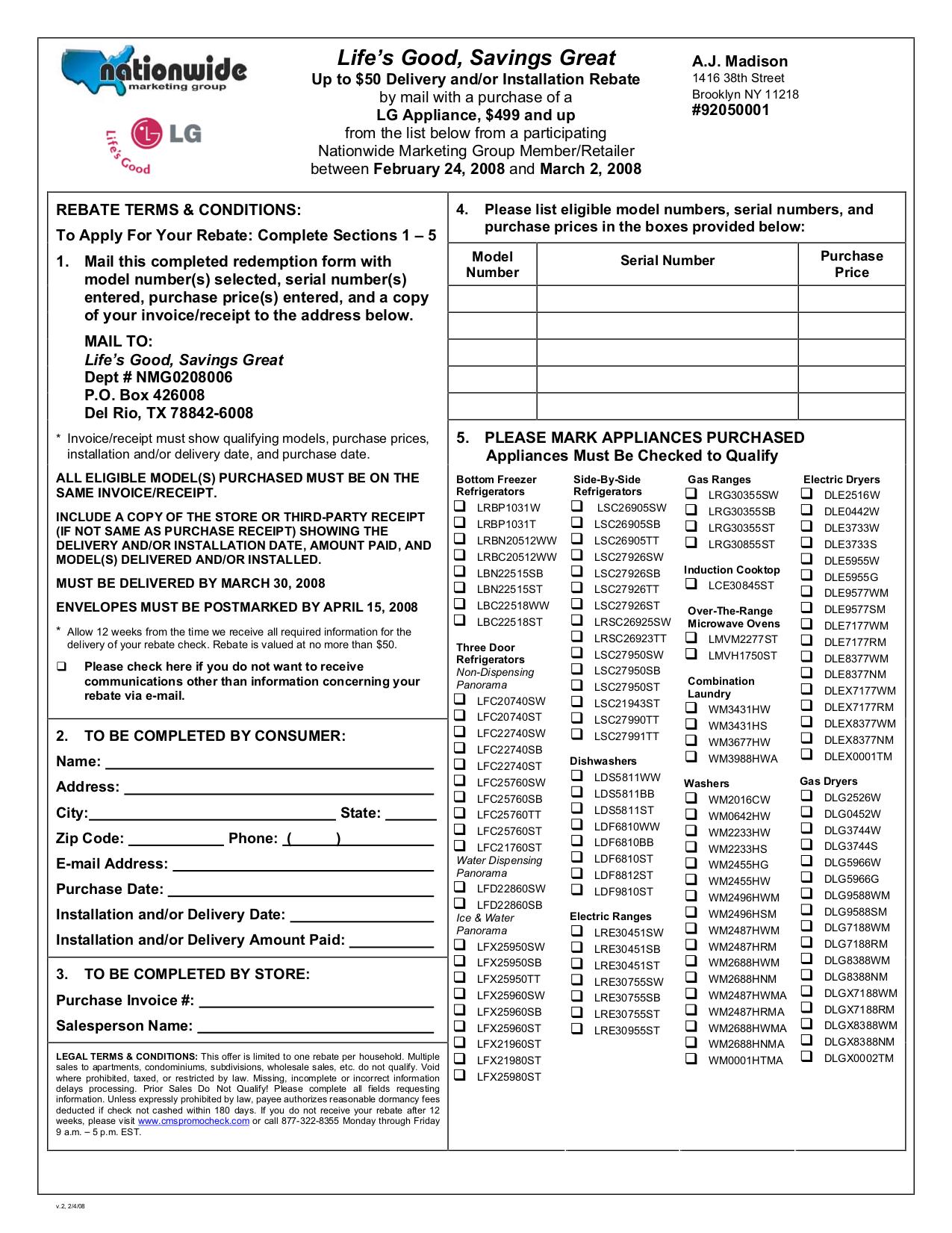 pdf for LG Refrigerator LSC27991TT manual