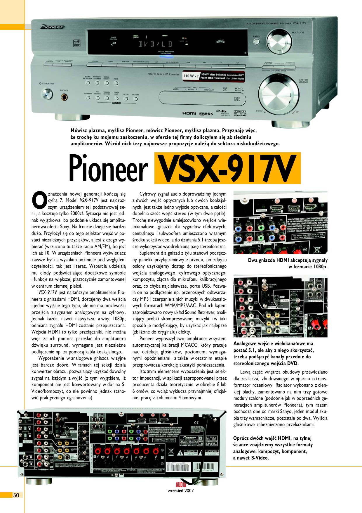 download free pdf for pioneer vsx 917v k receiver manual rh umlib com pioneer vsx 917v specs pioneer vsx-917v-k specs