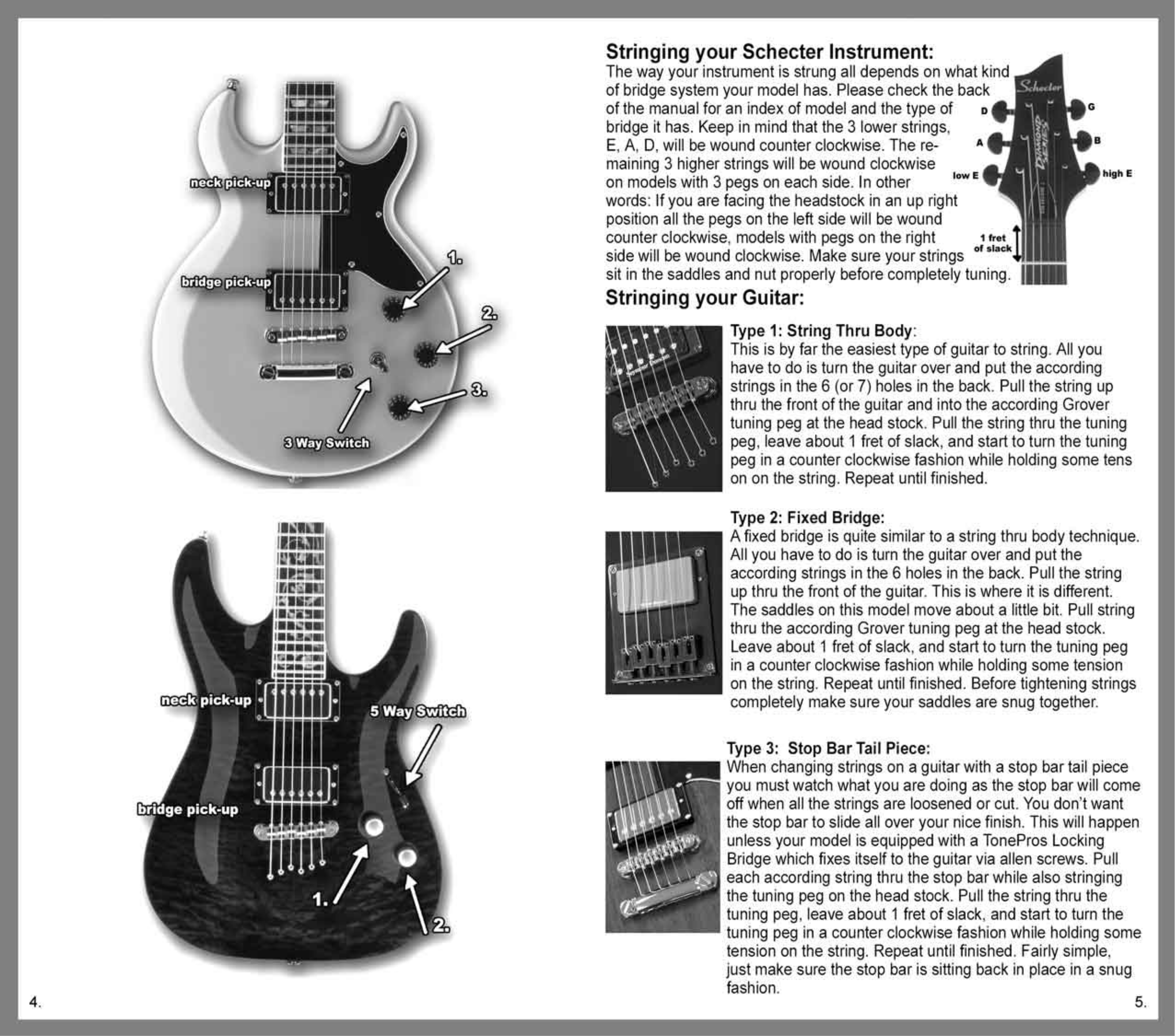 pdf manual for schecter guitar damien elite 7 fr rh umlib com Operators Manual schecter bass owner's manual