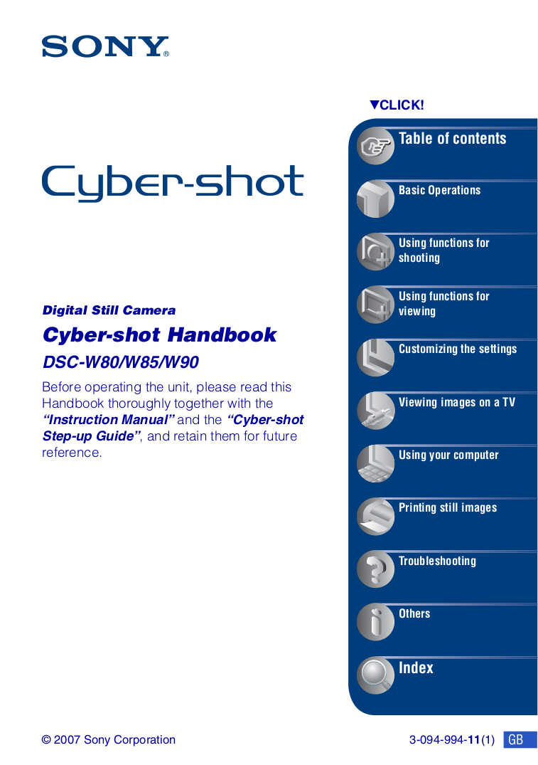 download free pdf for sony cybershot cyber shot dsc w80 digital rh umlib com sony dsc-w80 service manual sony dsc w800 manual