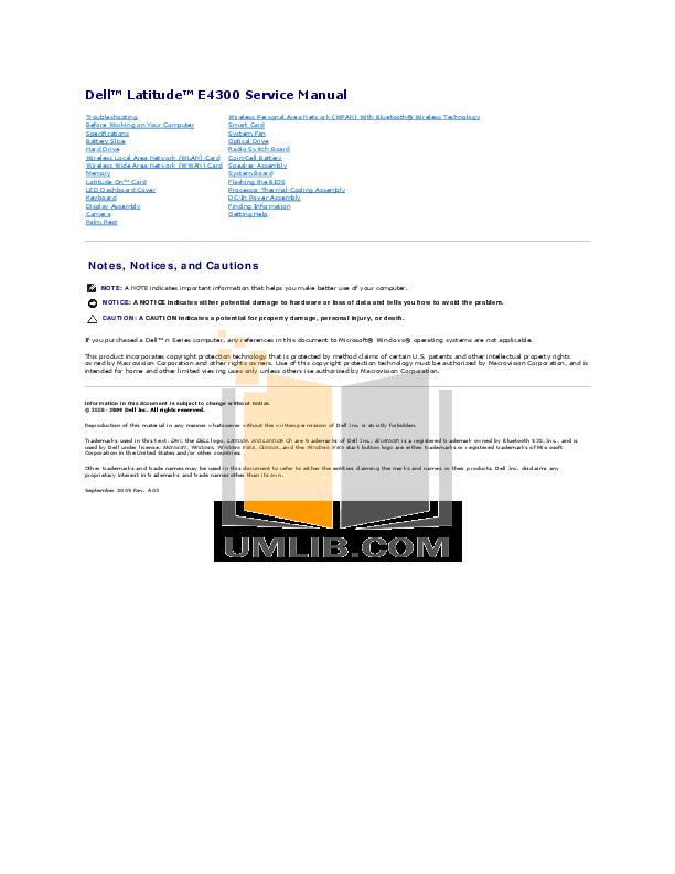 dell e4300 manual pdf