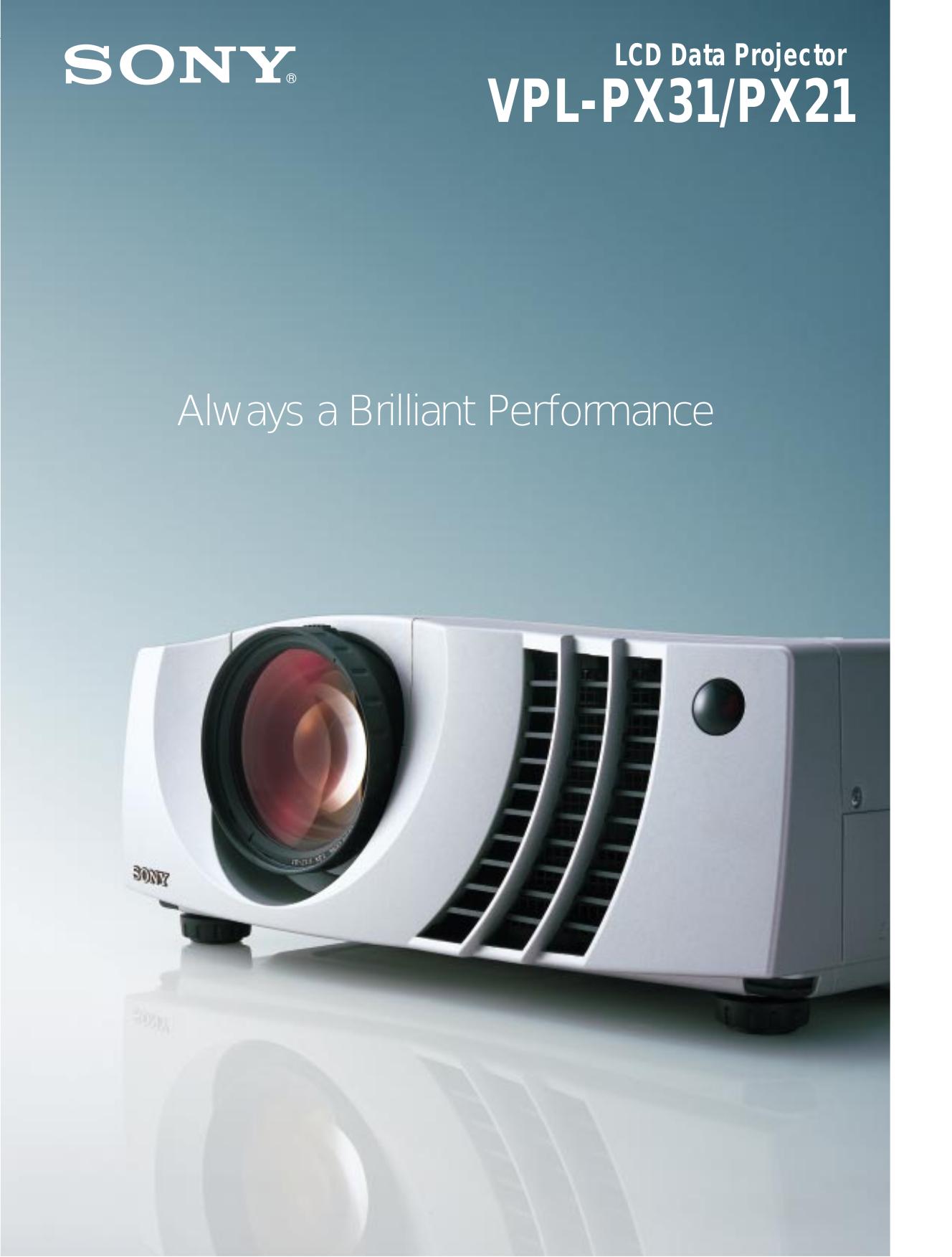 download free pdf for sony vpl px21 projector manual rh umlib com Sony BRAVIA Projector Sony VPL BW7