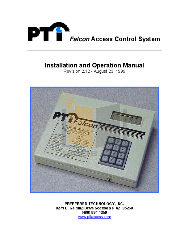 pdf for Aiphone Other BGR-10A Intercoms-Accessory manual