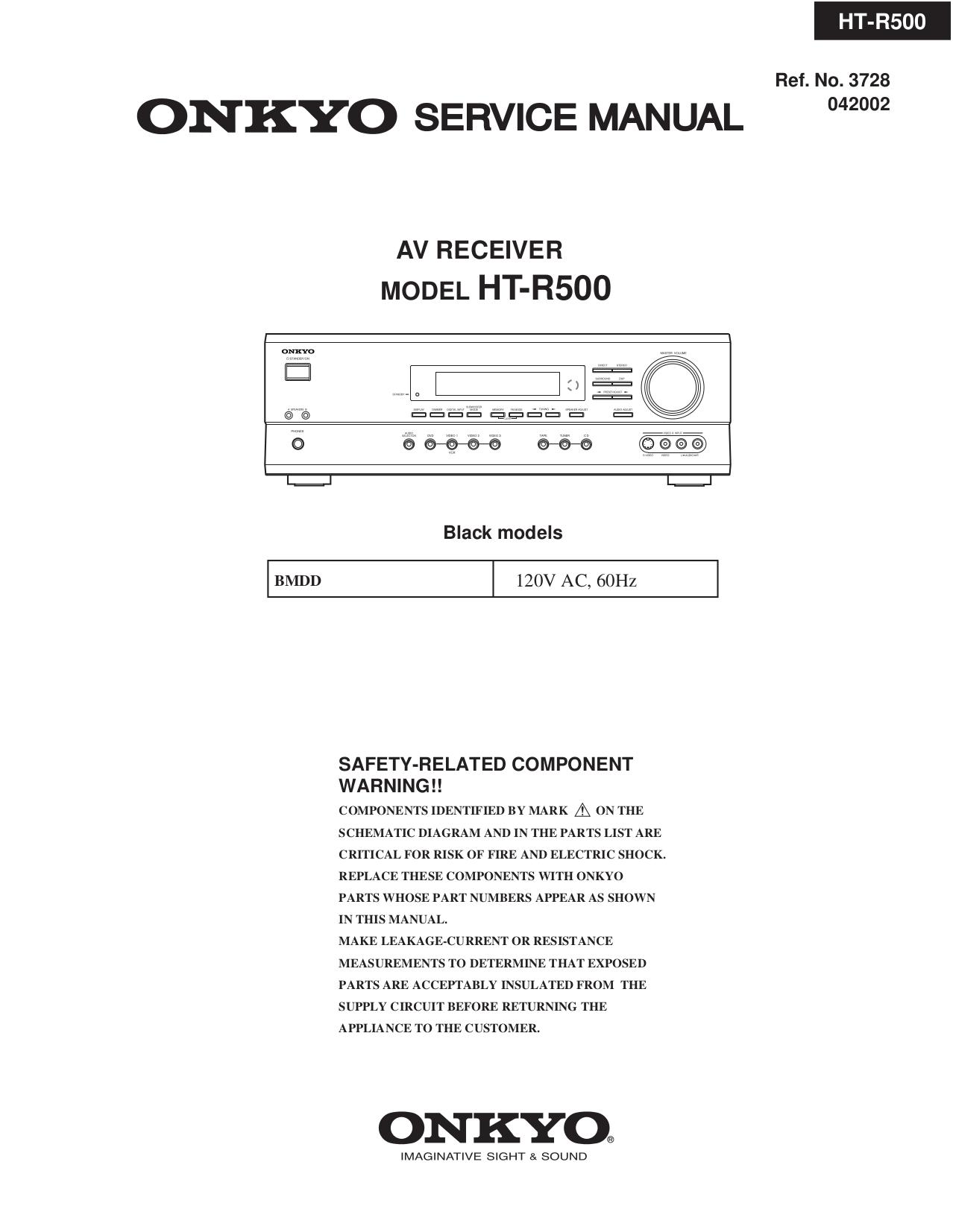 download free pdf for onkyo ht r500 receiver manual rh umlib com Onkyo HT R500 Remote onkyo ht-r500 service manual