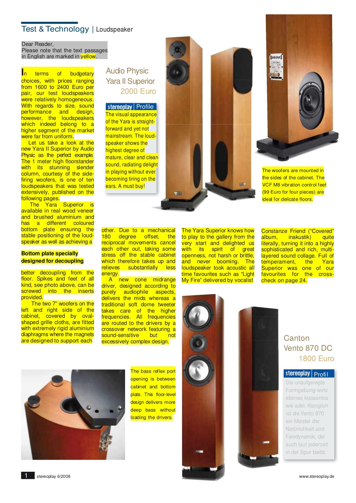 PDF manual for Klipsch Speaker RF-63