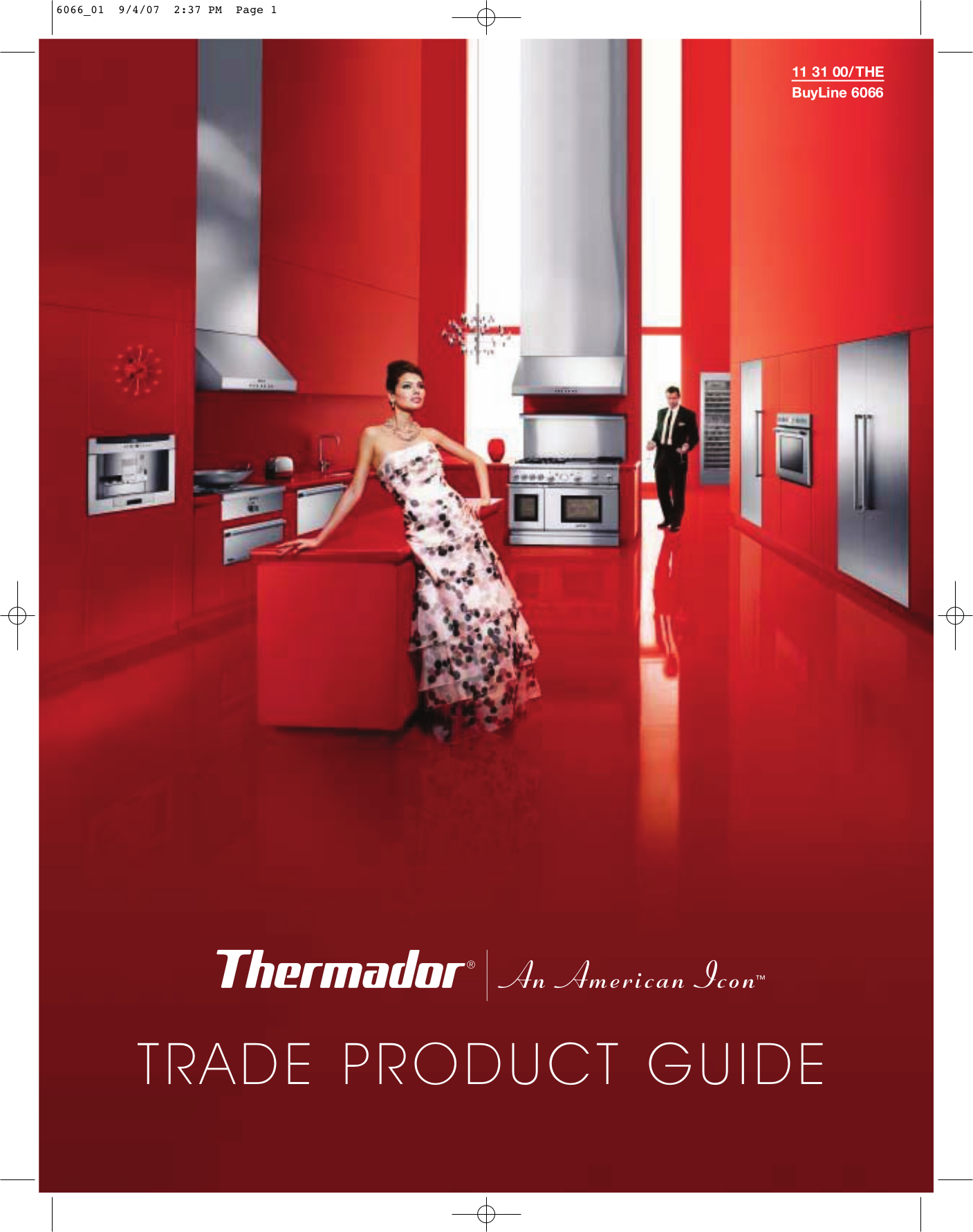 pdf for Thermador Oven LFTD30P manual