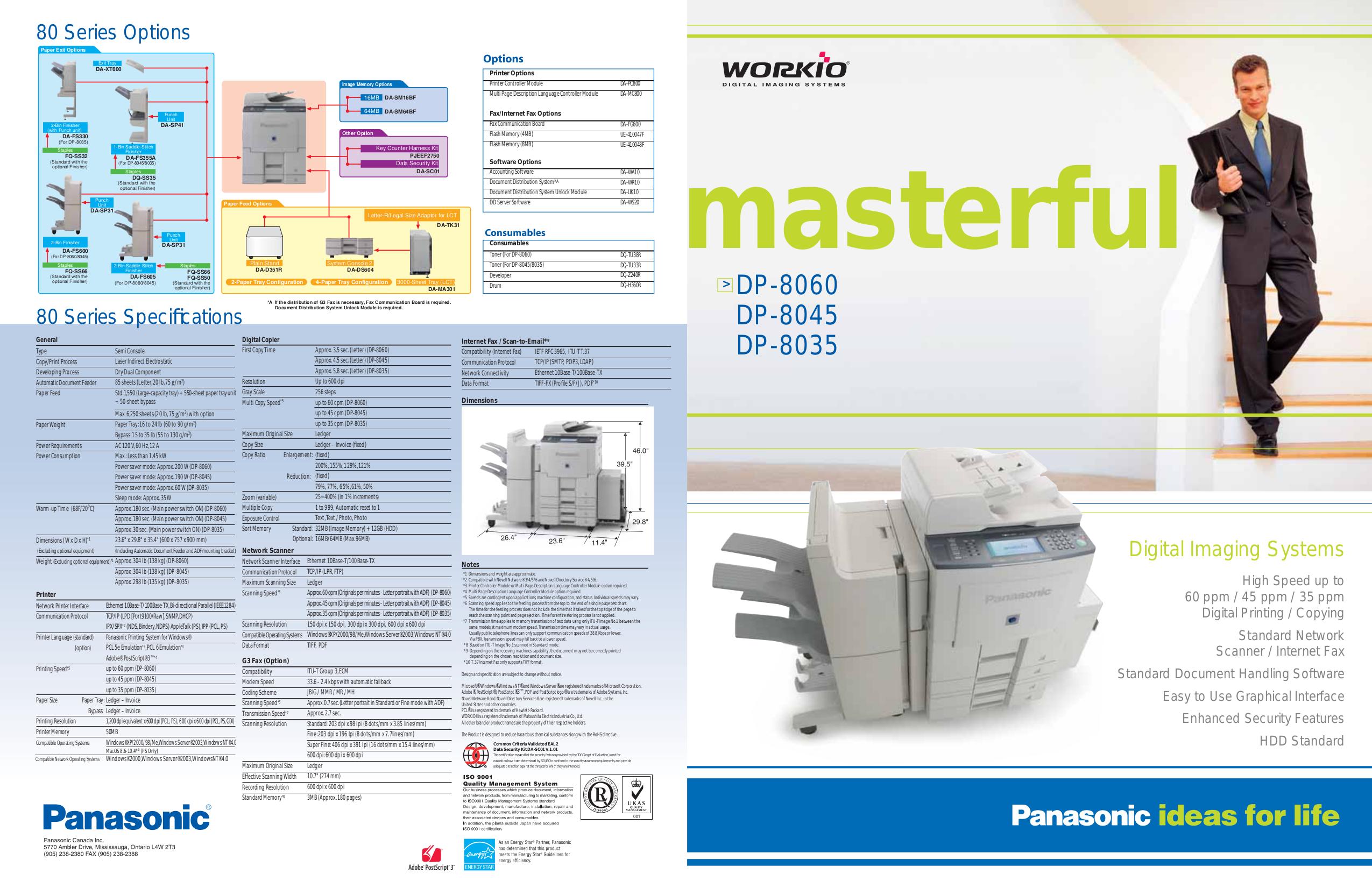 download free pdf for panasonic workio dp 8060 copier manual rh umlib com Panasonic FP 7728 Copier Kyocera Mita Copiers Brand