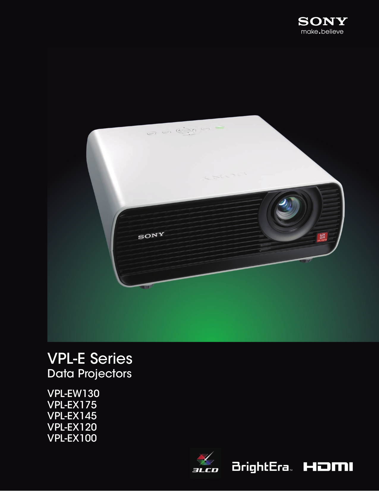 download free pdf for sony vpl ex100 projector manual rh umlib com Sony VPL Position Sony VPL Beamer