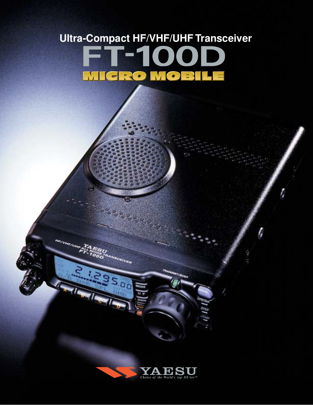 Pdf manual for yaesu other ft 897d hf transceiver for Roca 20 20f manual