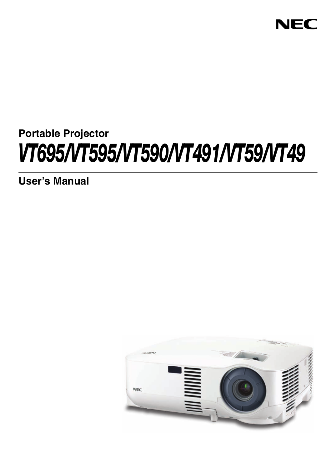 download free pdf for nec vt440k projector manual rh umlib com User Guide Template User Manual