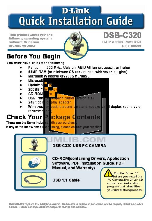 pdf for D-link Other DSB-500 manual