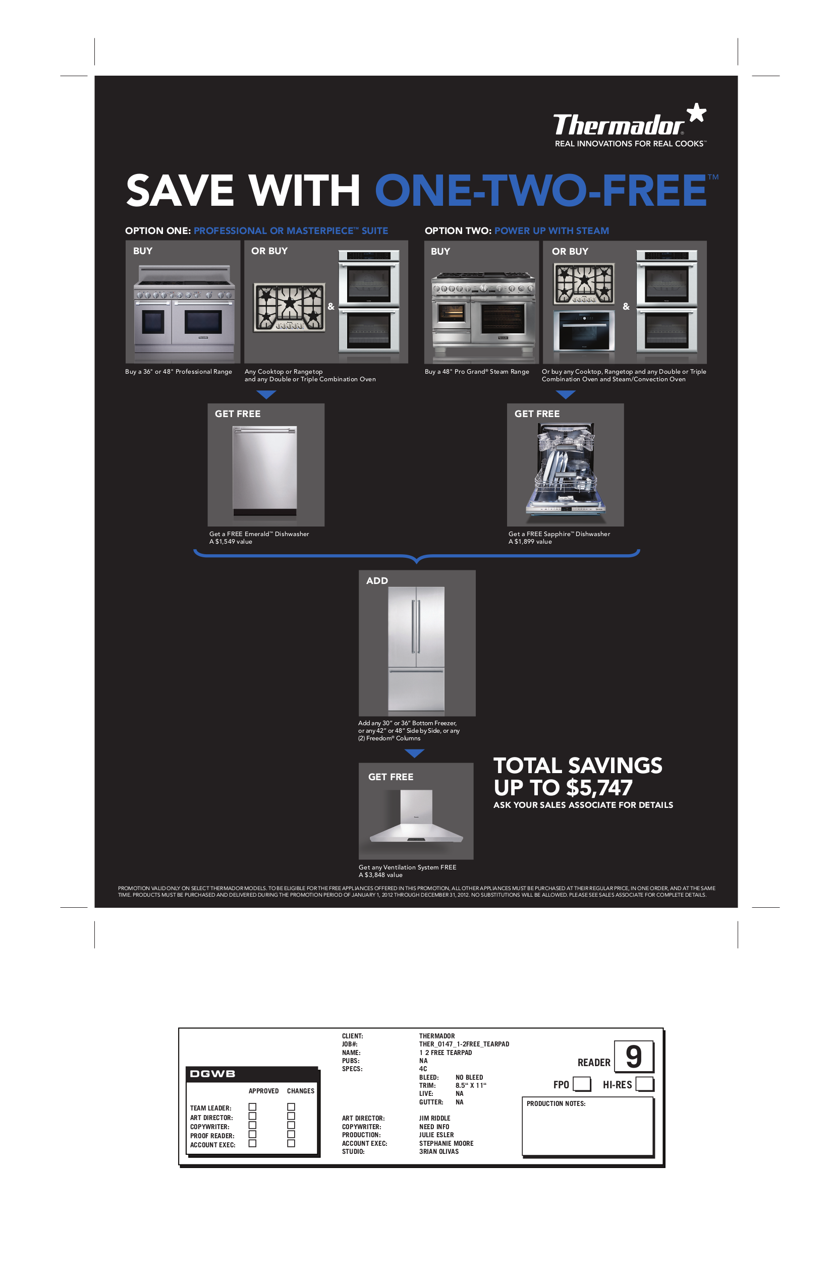 pdf for Thermador Oven MED272ES manual