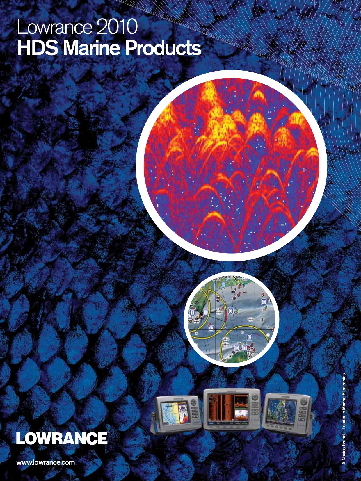 pdf for Lowrance GPS GlobalMap 2000 manual
