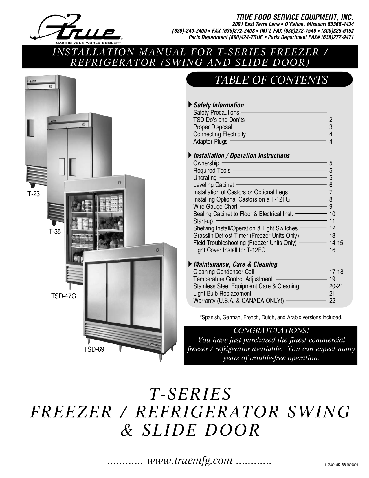 t.pdf 0 download free pdf for true t 49f freezer manual true t-49dt wiring diagram at panicattacktreatment.co