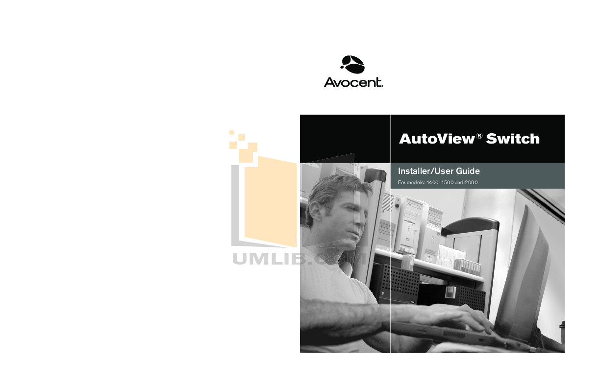 pdf for Avocent Switch AutoView AutoView 2000 manual