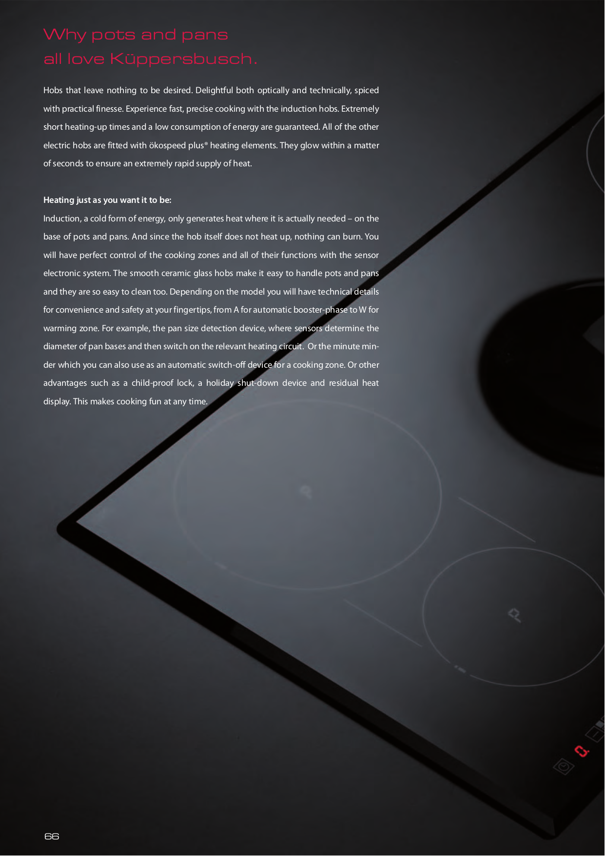 pdf for Kuppersbusch Range EKWH320.18Z manual