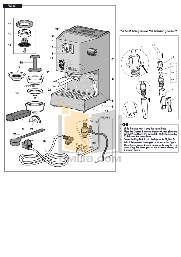 Download free pdf for gaggia baby twin coffee maker manual.