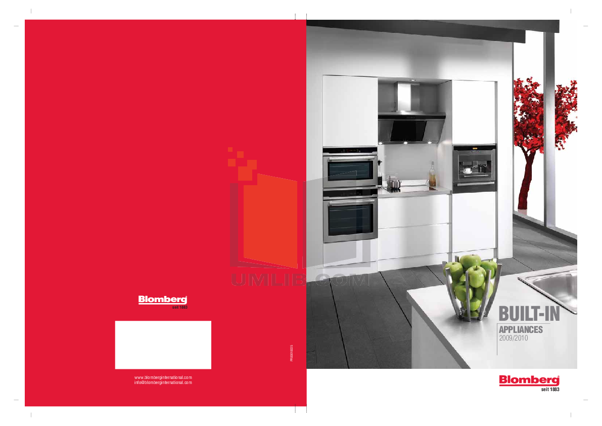 pdf for Blomberg Dishwasher GSS 1380 manual
