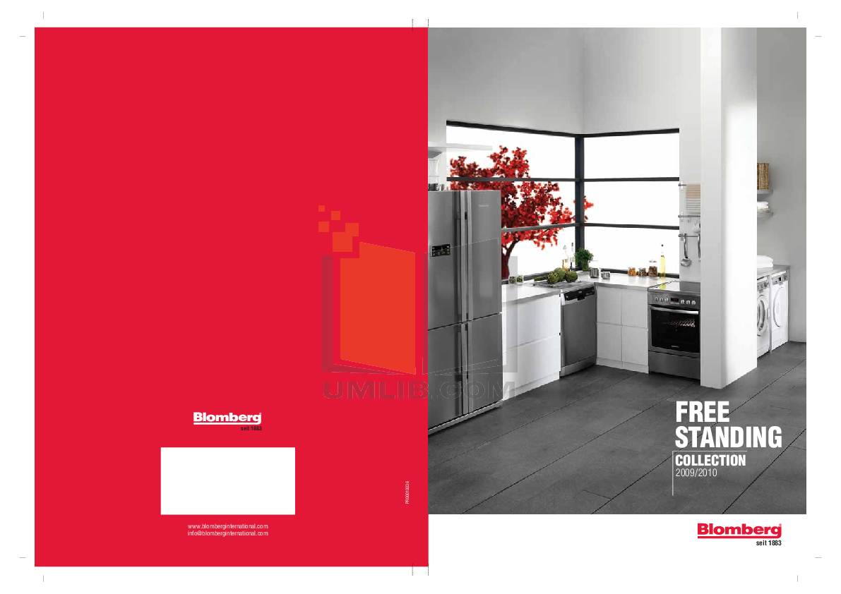 Blomberg Dishwasher GSS 1380 pdf page preview