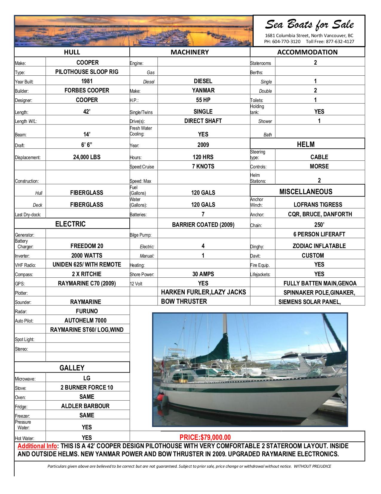 pdf for Raymarine GPS C70 manual