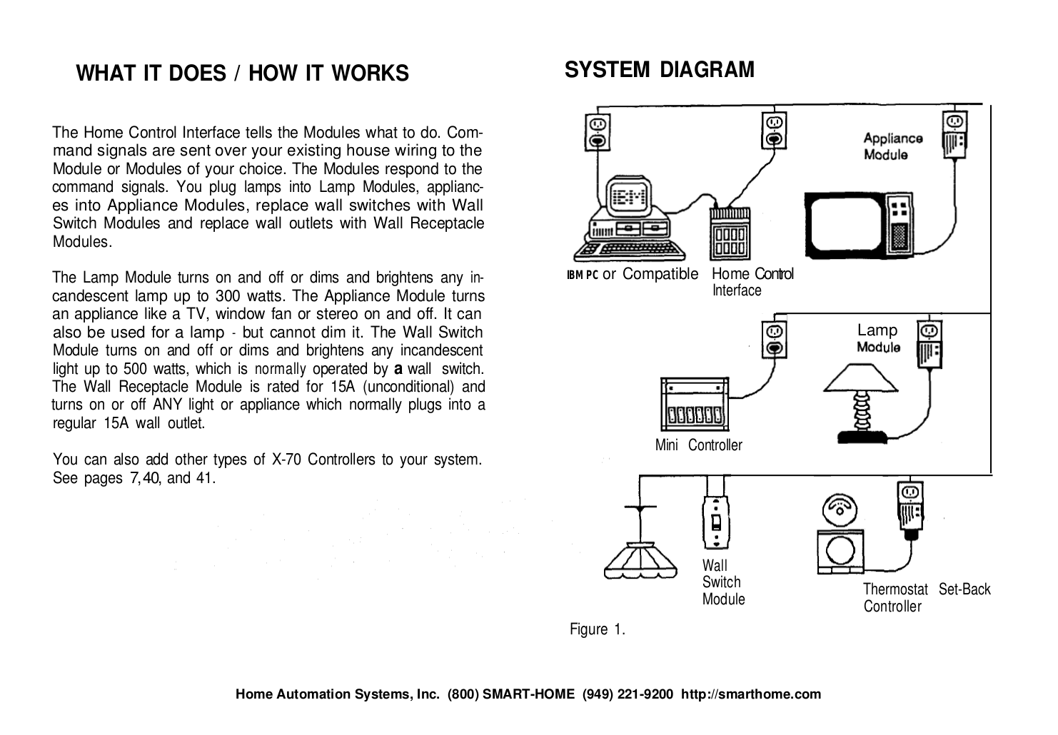 Pdf Manual For X10 Other Mc460 Home Automation System Wall Switch Wiring Diagram Page Preview