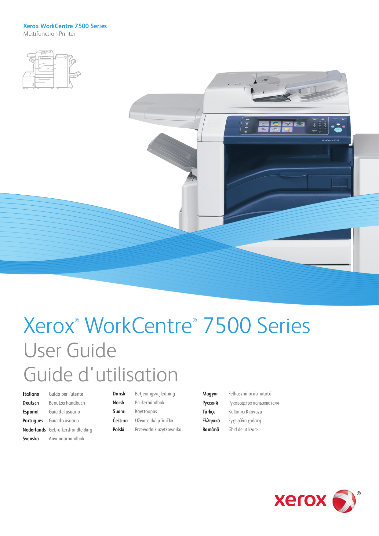 Download free pdf for Xerox WorkCentre 7655 Multifunction