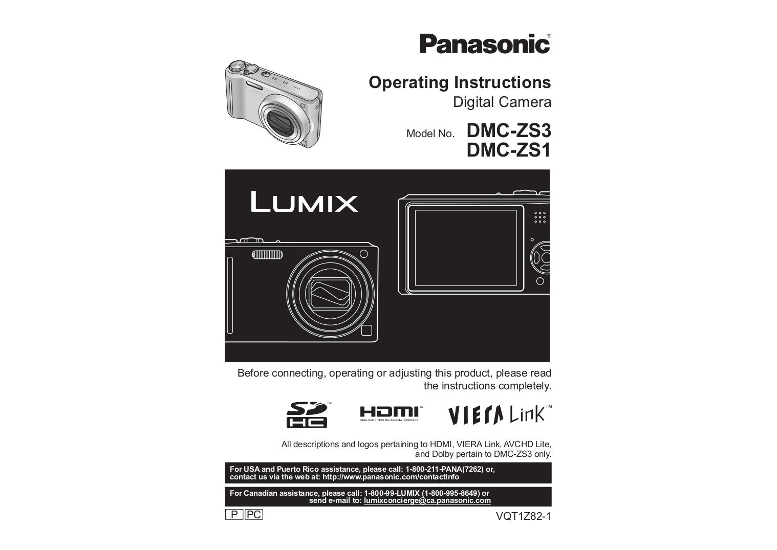 panasonic lumix dmc fz35 manual pdf