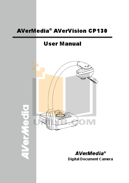 pdf for Avermedia Other MP3000 Security Camera-Accessory manual