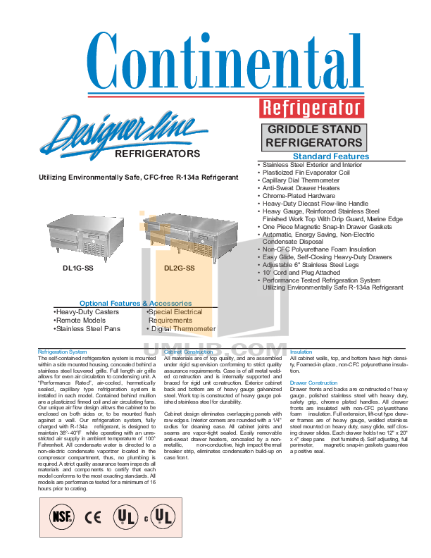 continental steel manual