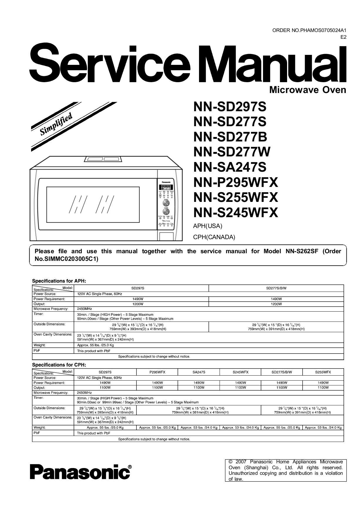 Panasonic 1200w Inverter Microwave Manual Bestmicrowave