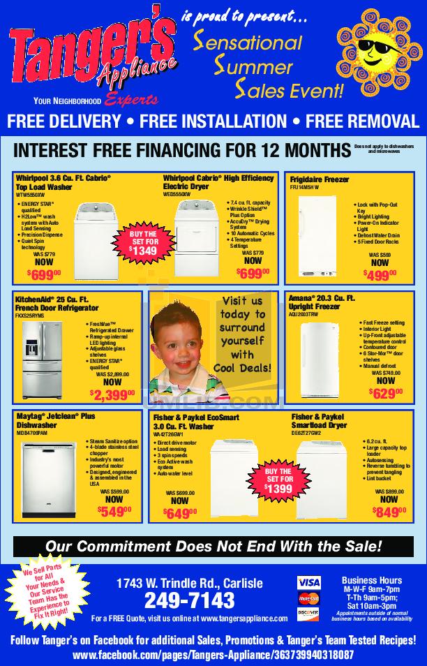 pdf for Amana Freezer AQU2003TRW manual