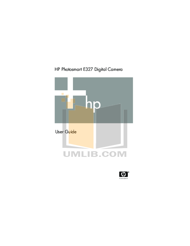 pdf for HP Digital Camera Photosmart E327 manual
