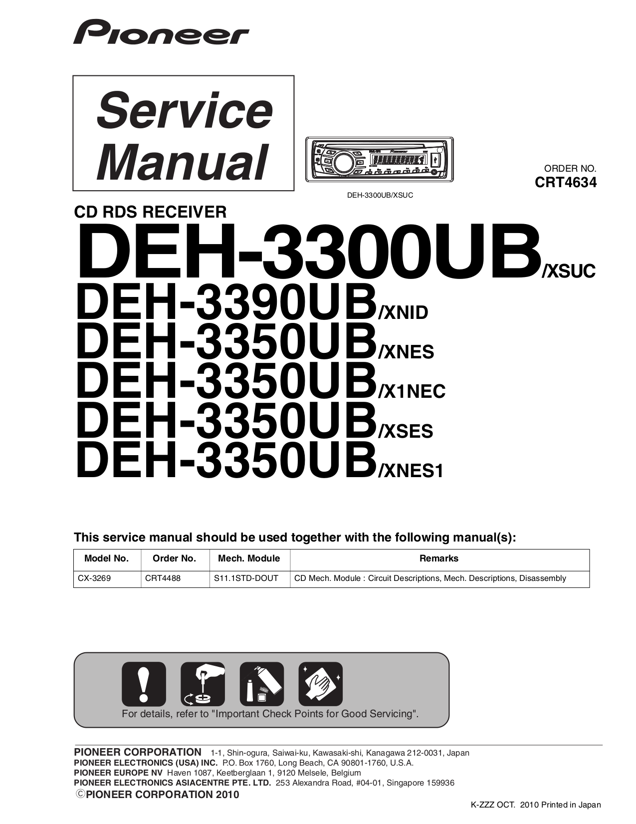 Pioneer_DEH 3300UB_3350UB_3390UB.pdf 0 download free pdf for pioneer deh 3300ub car receiver manual pioneer deh 3300ub wiring diagram at panicattacktreatment.co