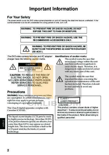pdf manual for hitachi camcorders dz mv550a rh umlib com Verizon LG Cell Phone Manual Hitachi TV Repair Manual