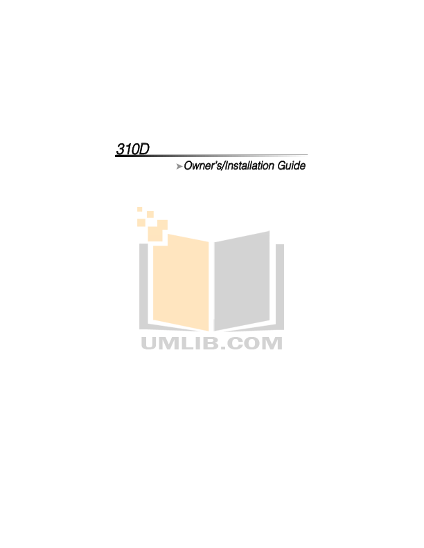 pdf for DEI Car Receiver 500 manual