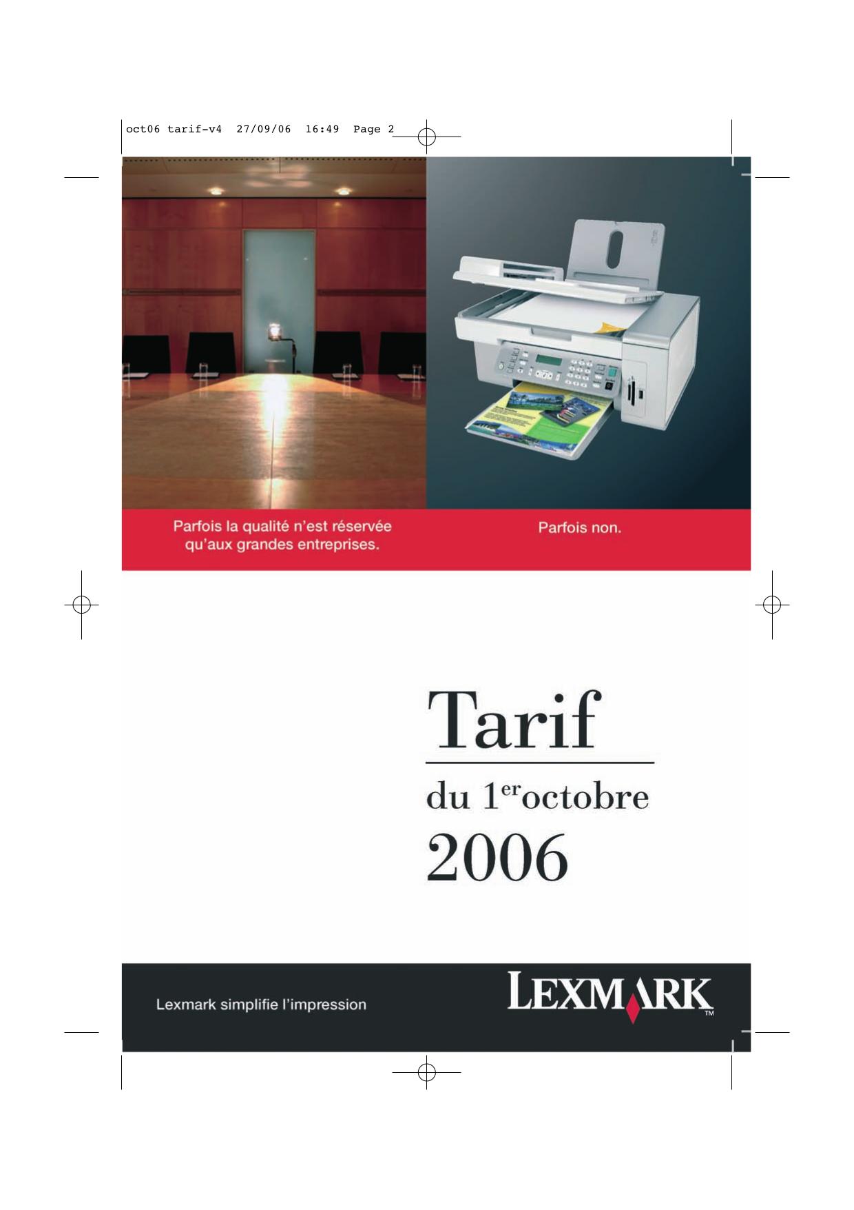 pdf for Lexmark Printer T634dtn manual