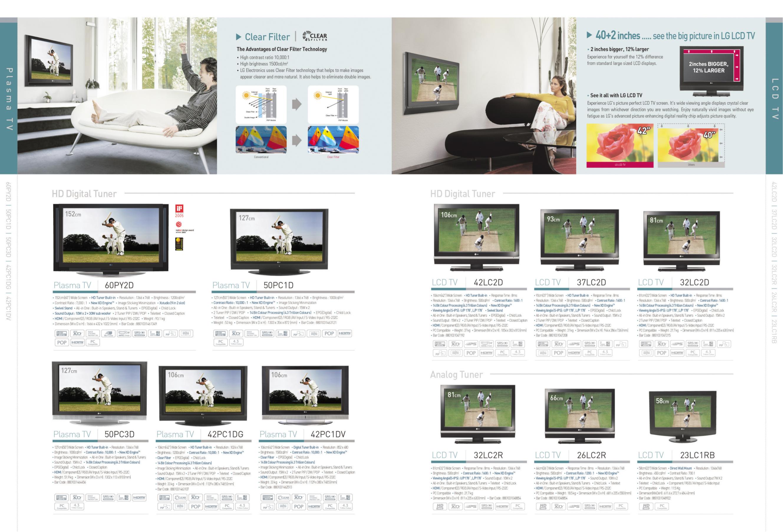PDF manual for LG TV 50PC3D