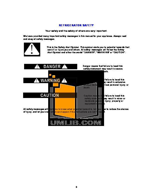 Avanti Refrigerator BCA886 pdf page preview