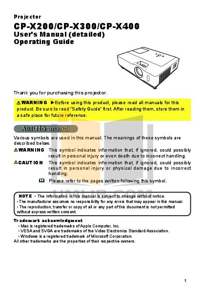 download free pdf for hitachi cp x200 projector manual rh umlib com hitachi cp-x200 manual Hitachi TV Repair Manual