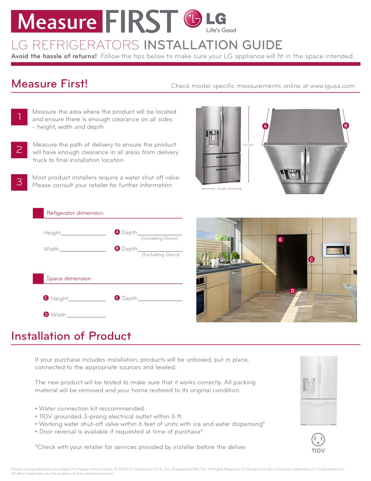 Download Free Pdf For Lg Lmx25988st Refrigerator Manual Schematics