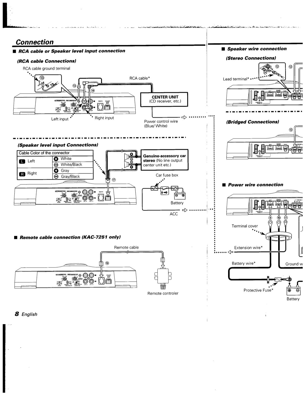 pdf manual for kenwood car amplifier kac 7201 rh umlib com Kenwood KAC 624 Kenwood KAC 646