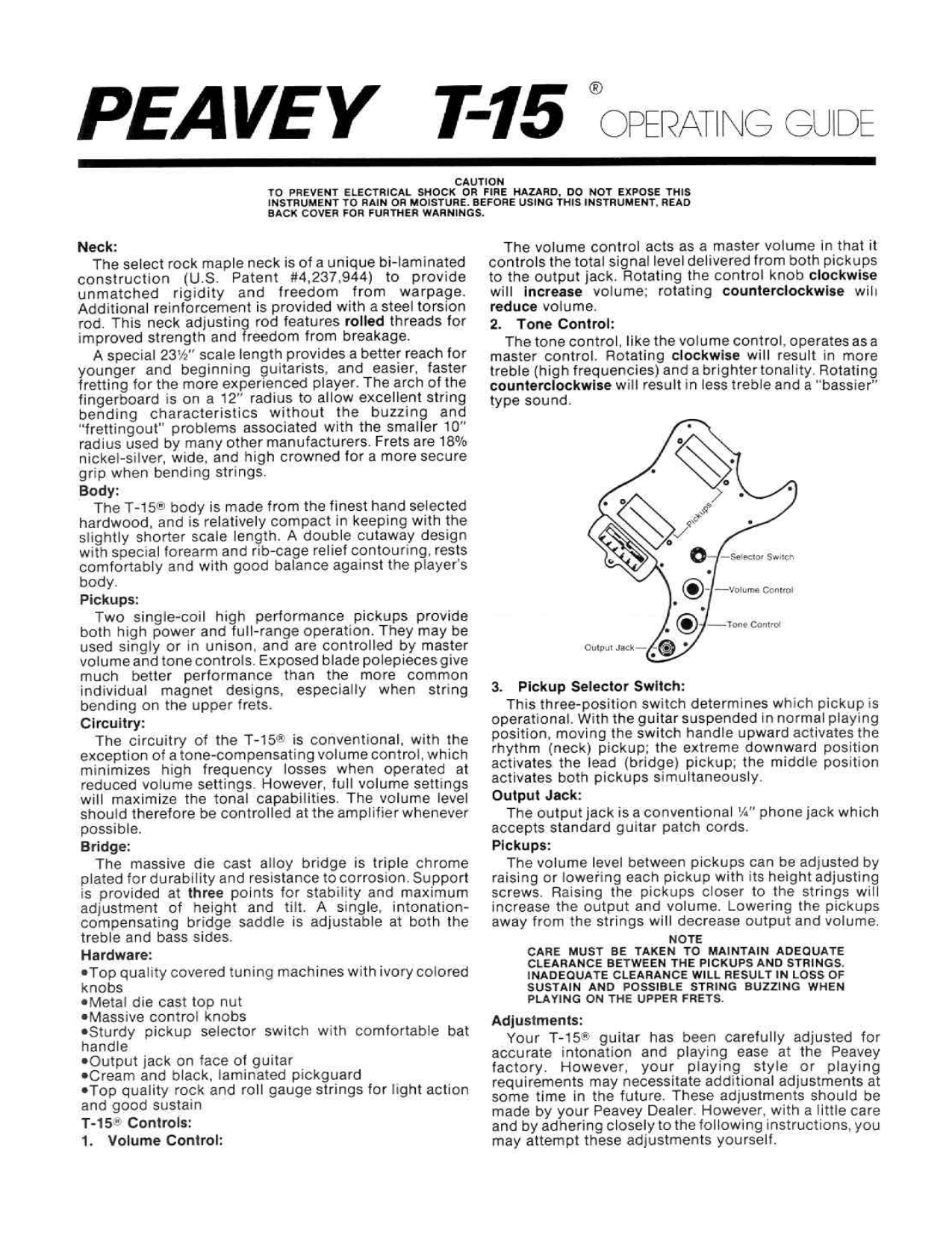 wiring diagram for peavey guitar wiring image pdf for peavey t15 guitar manual on wiring diagram for peavey guitar