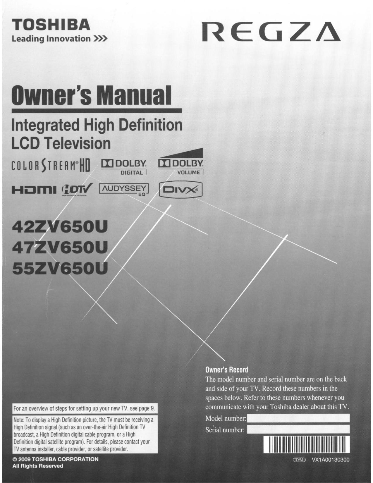download free pdf for toshiba regza 47zv650u tv manual rh umlib com toshiba regza 42x3030d tv manual toshiba regza 42x3030d tv manual