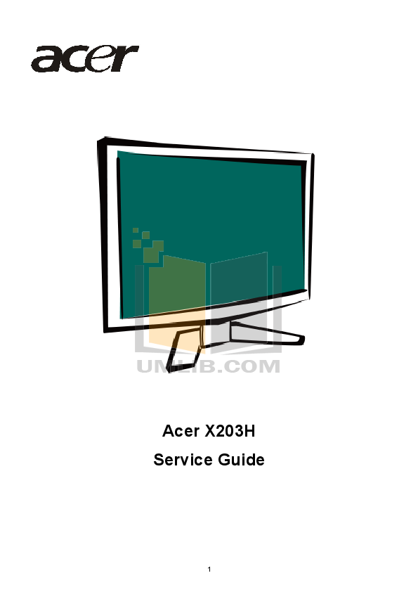 pdf for Acer Desktop AcerPower 6500 manual