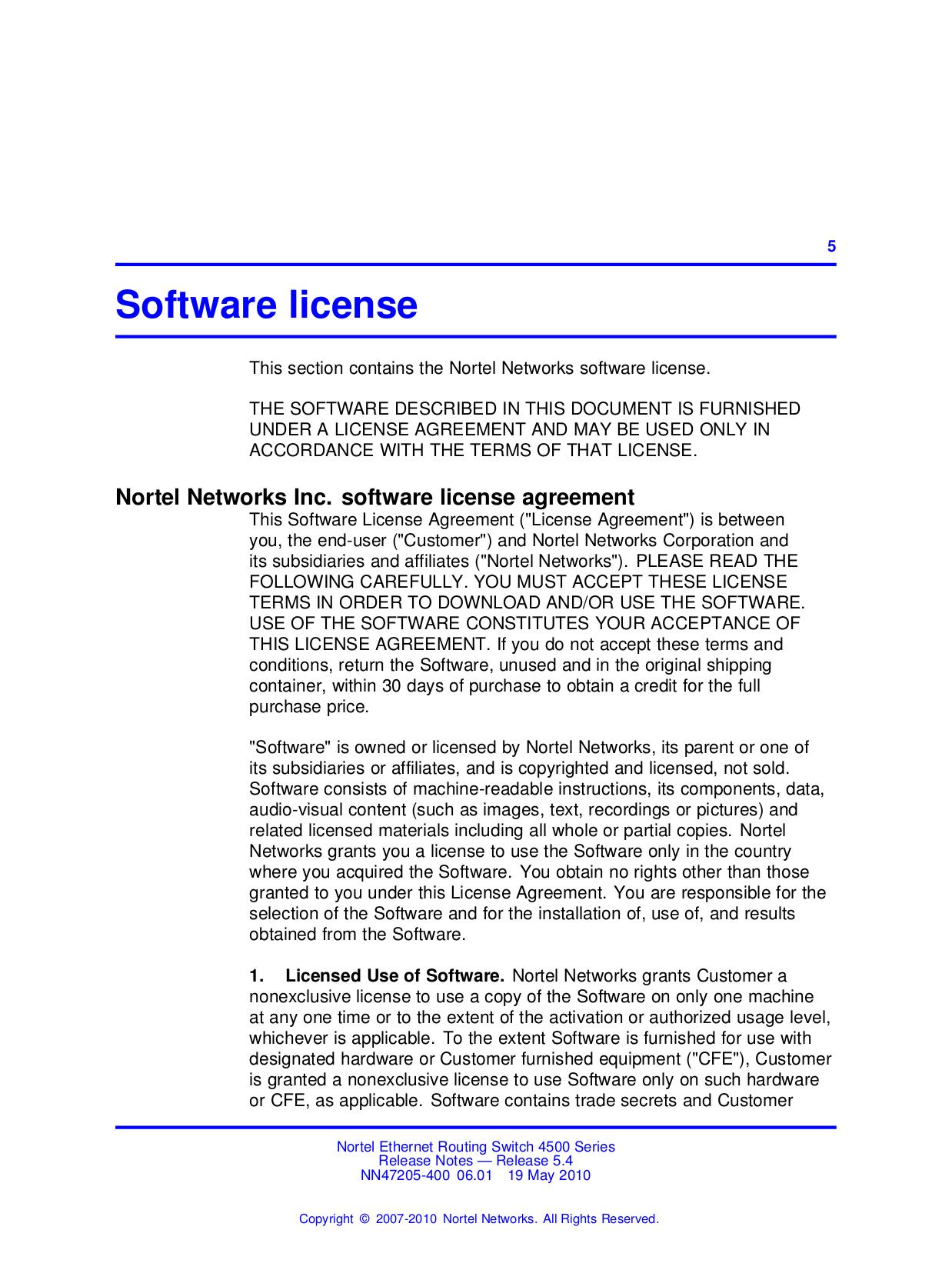 Nortel Router Contivity 1000 GT pdf page preview