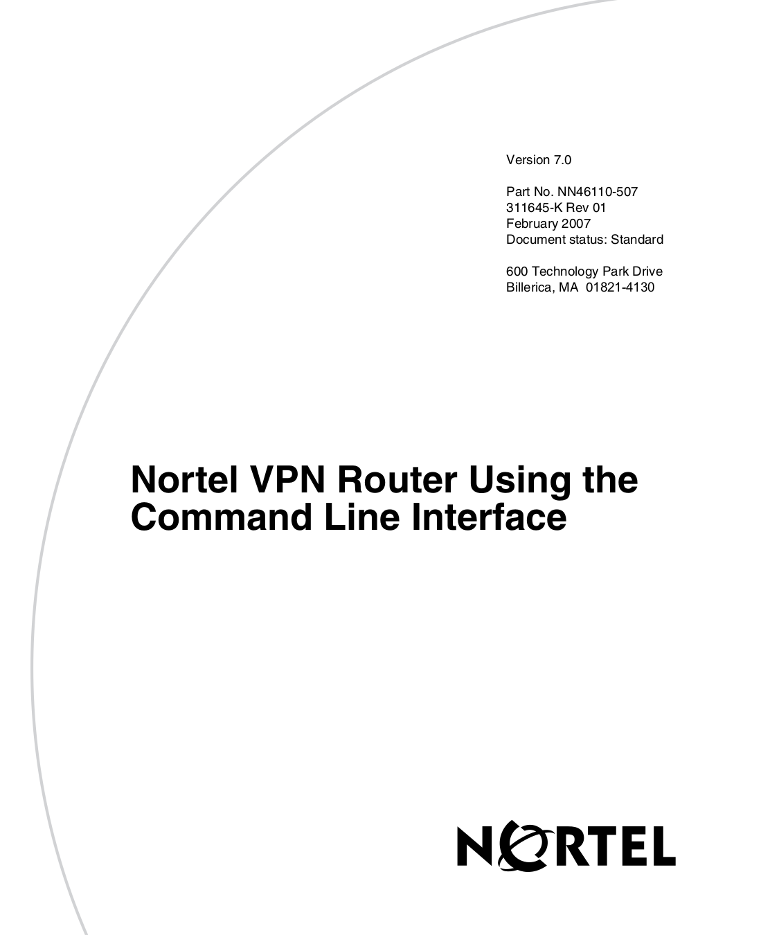 pdf for Nortel Router Contivity 1000 GT manual
